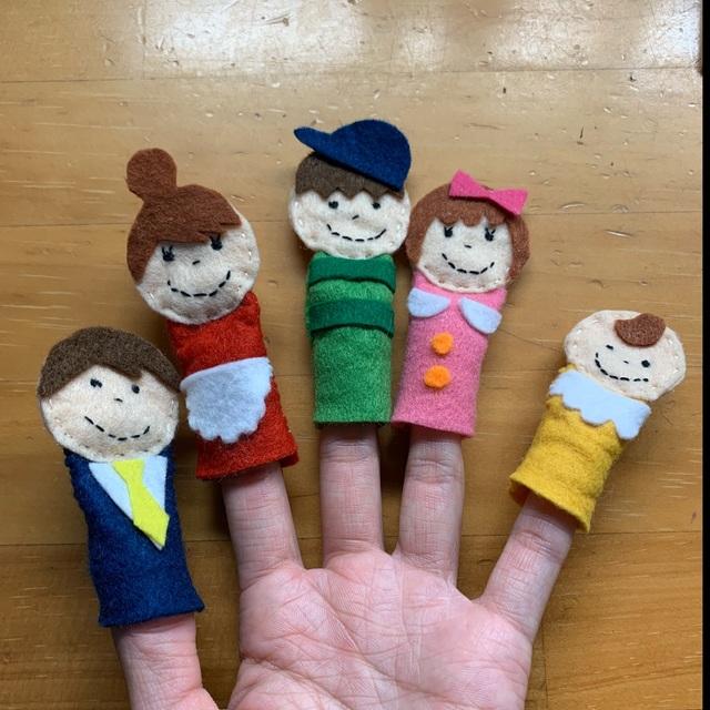 【アプリ投稿】【おはなしゆびさん 指人形】