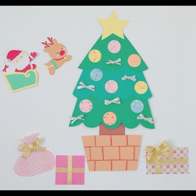 【アプリ投稿】クリスマスツリーのオーナメント