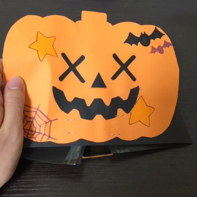 【アプリ投稿】【おばけかぼちゃのお面】