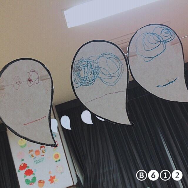 【アプリ投稿】子どもたちが描いたおばけ