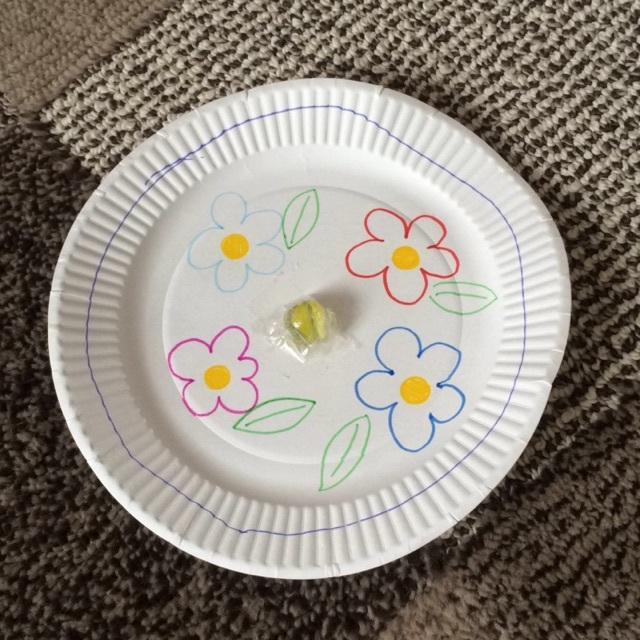 【アプリ投稿】紙皿コマ