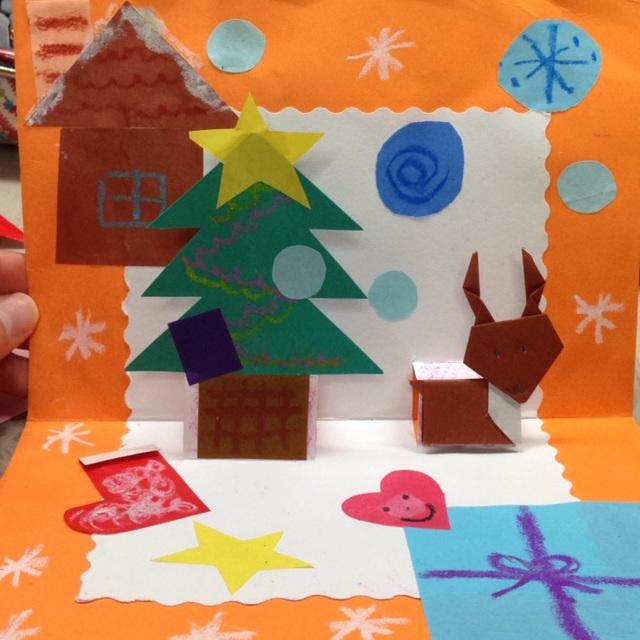 【アプリ投稿】飛び出すクリスマスカード!