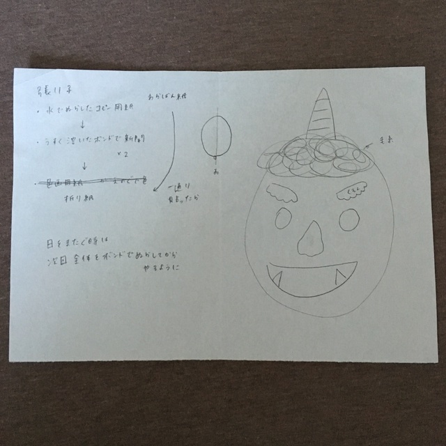 【アプリ投稿】○鬼のお面
