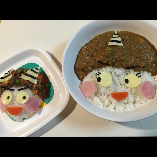 【アプリ投稿】鬼カレー子鬼と母鬼