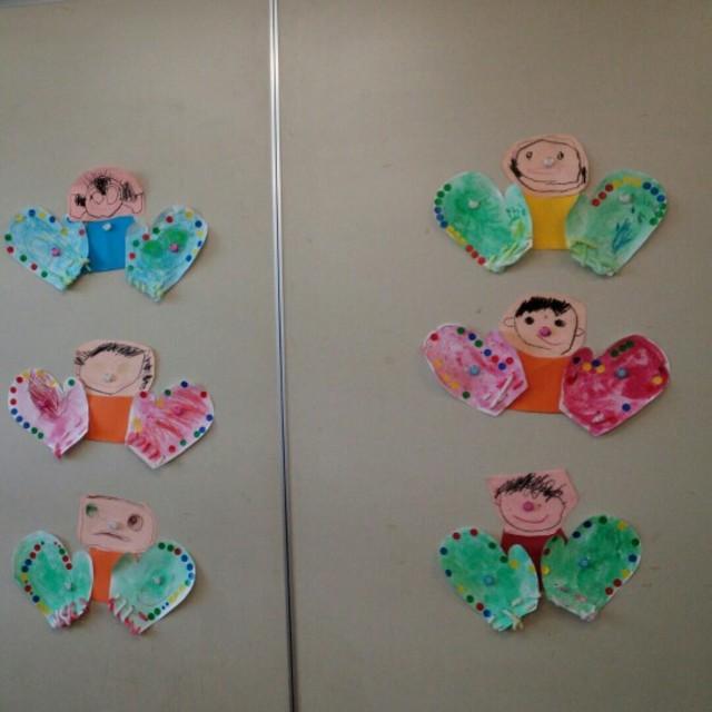 【アプリ投稿】3歳児 ひな祭り製作
