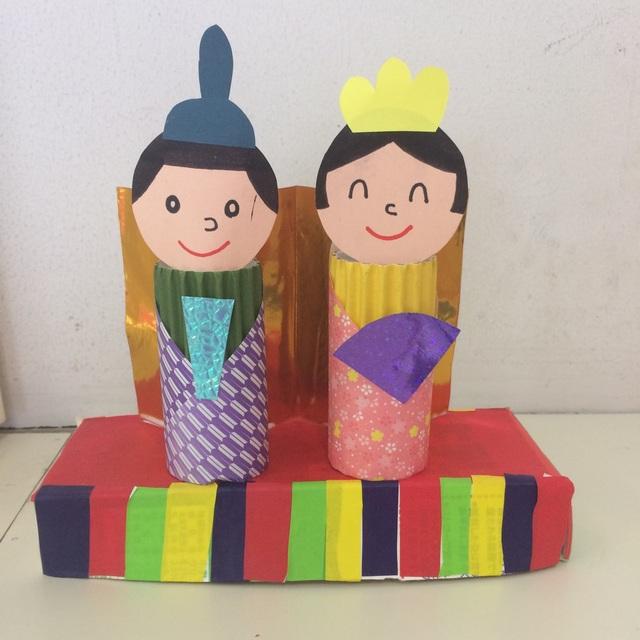 【アプリ投稿】4歳児 雛人形