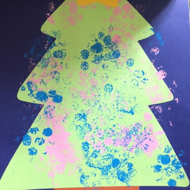 【アプリ投稿】 スタンプクリスマスツリー