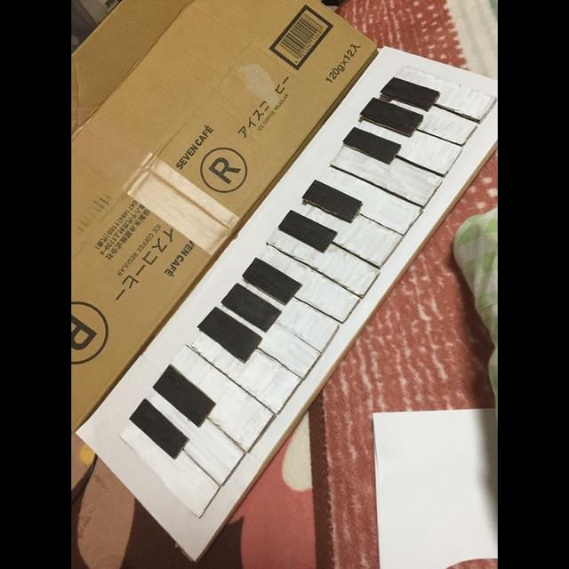 【アプリ投稿】手作りピアノ