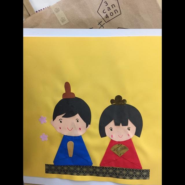 【アプリ投稿】ひな祭り 4歳児