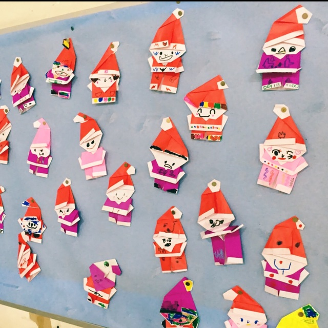 【アプリ投稿】4歳児 Xmas 壁面