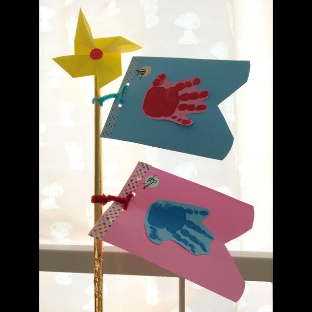 【アプリ投稿】「こいのぼり」1歳児製作