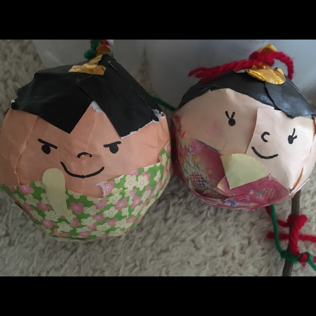 【アプリ投稿】コロコロ雛人形♡