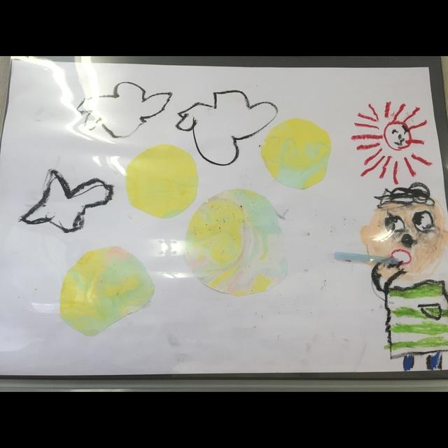 【アプリ投稿】5歳児 マーブリング