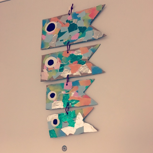 【アプリ投稿】玄関飾り⭐︎鯉のぼり
