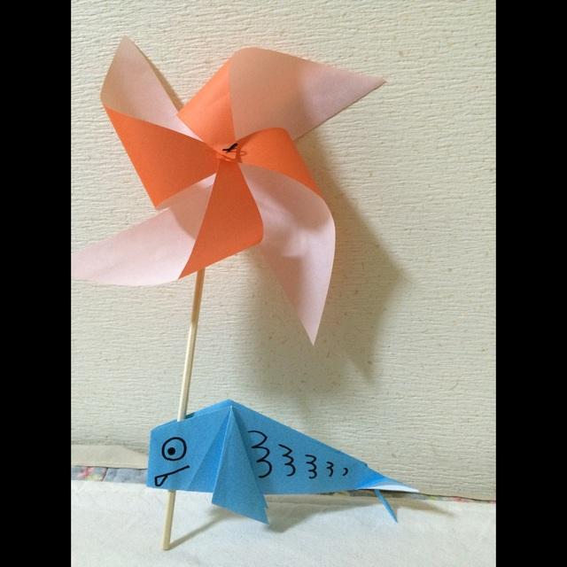 【アプリ投稿】【風車と鯉のぼり】