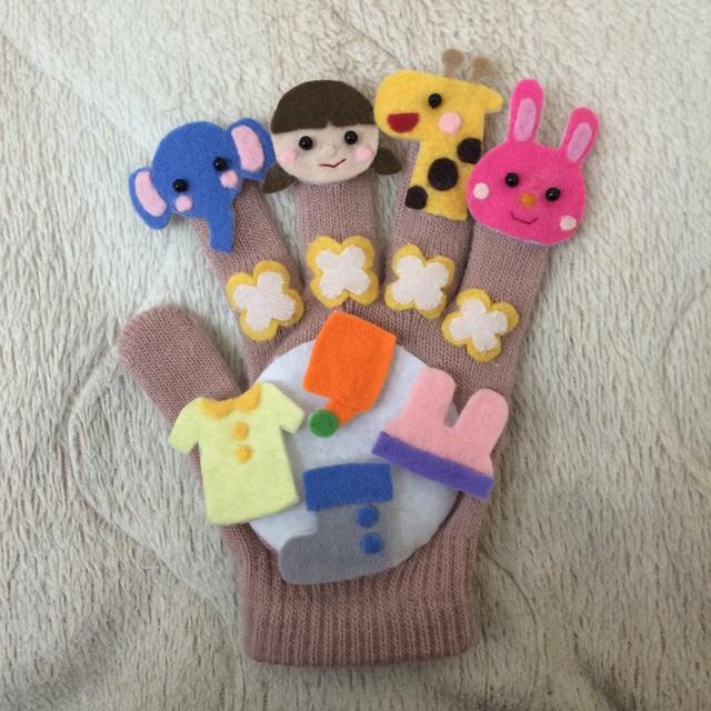 【アプリ投稿】手袋シアター糸まき