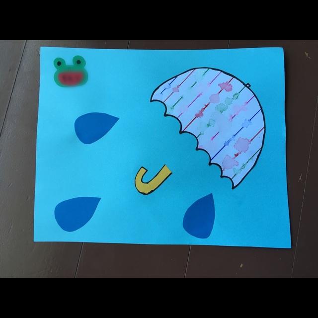 【アプリ投稿】☆雨の日の製作