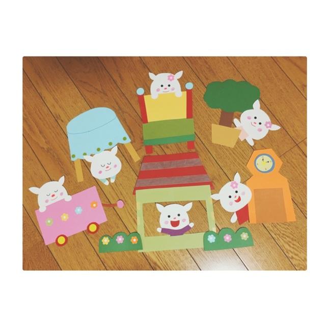 【アプリ投稿】7匹の 子ヤギ  !