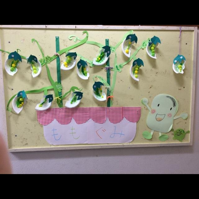 【アプリ投稿】3歳児5月壁面