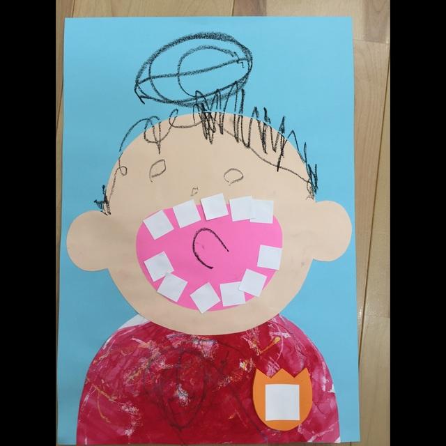 【アプリ投稿】2歳児虫歯の日にちなんでの制作