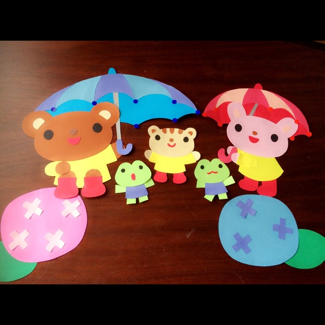 【アプリ投稿】6月壁面 梅雨