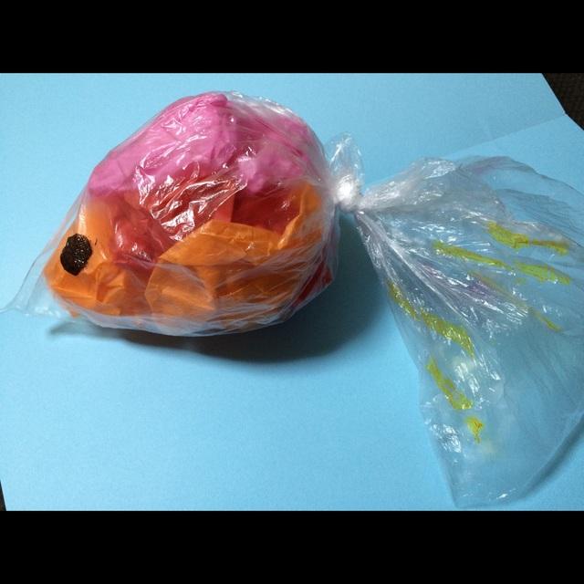 【アプリ投稿】【ビニール金魚】