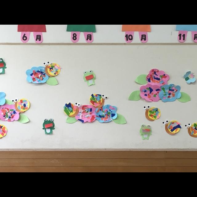【アプリ投稿】2歳児6月壁面