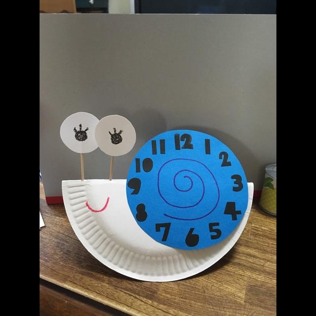 【アプリ投稿】三歳児かたつむりの時計
