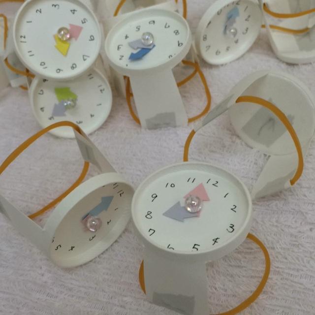 【アプリ投稿】紙コップの腕時計