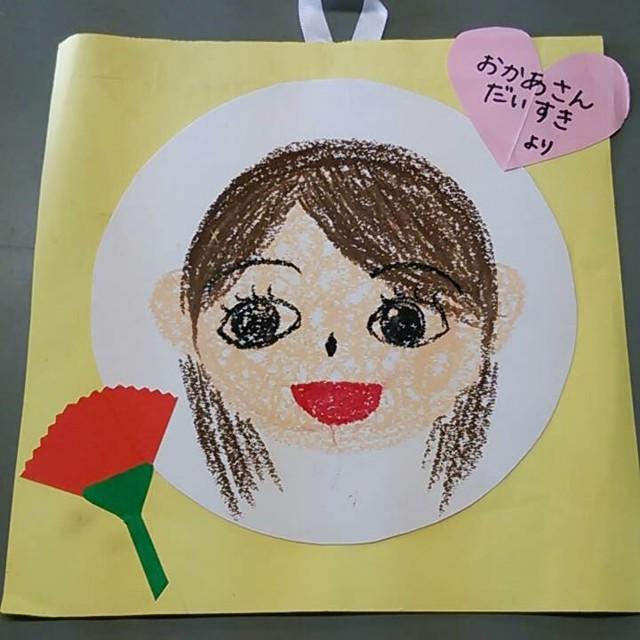 【アプリ投稿】母の日製作 4歳児