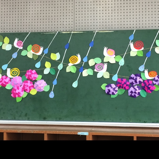 【アプリ投稿】紫陽花とカタツムリ