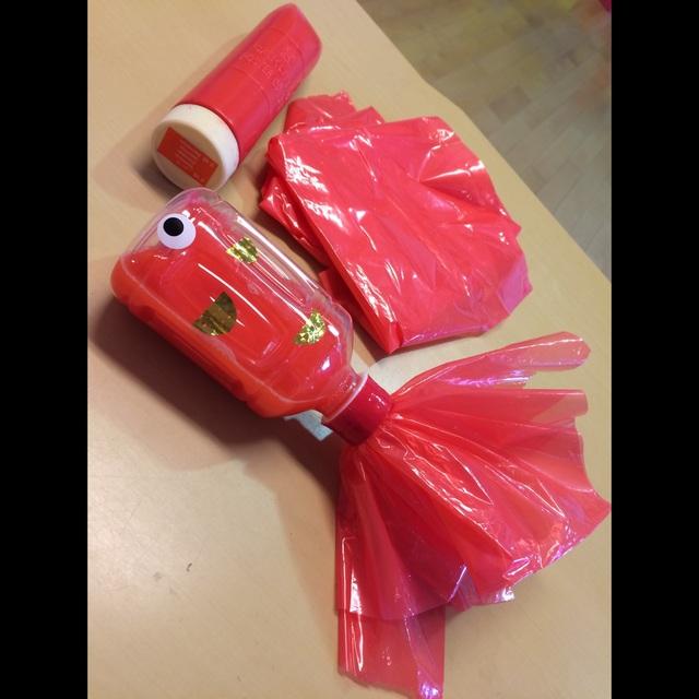 【アプリ投稿】【赤い金魚さん】