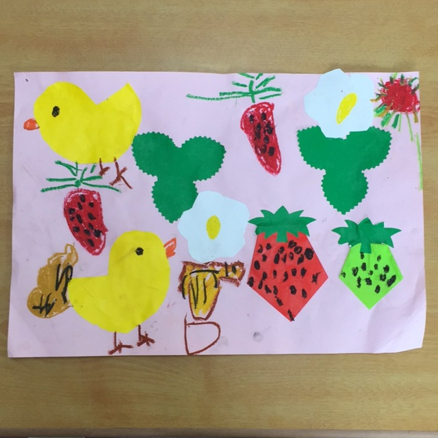 【アプリ投稿】5・6月の壁面 4歳児