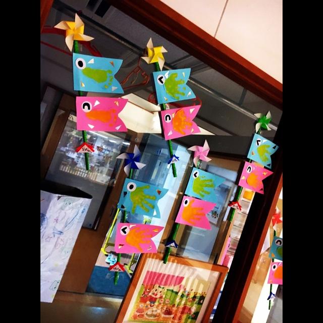 【アプリ投稿】五月に鯉のぼりを(*˙︶˙*)ノ゙