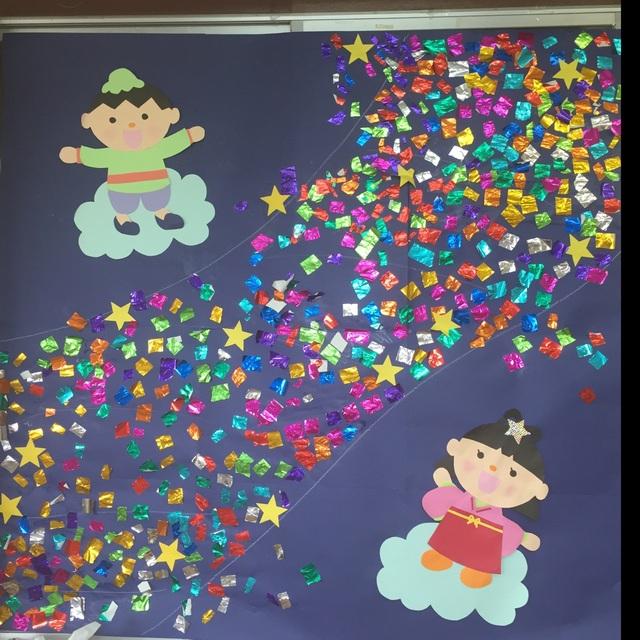 【アプリ投稿】3歳児 七夕
