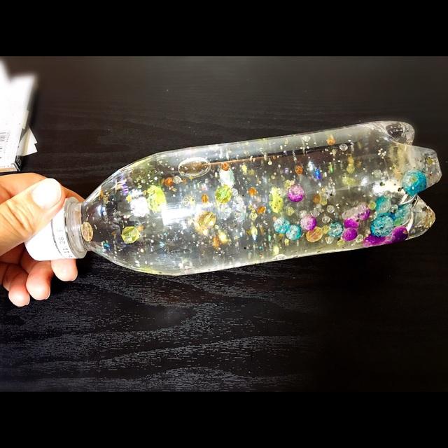 【アプリ投稿】ペットボトルのキラキラスノードーム