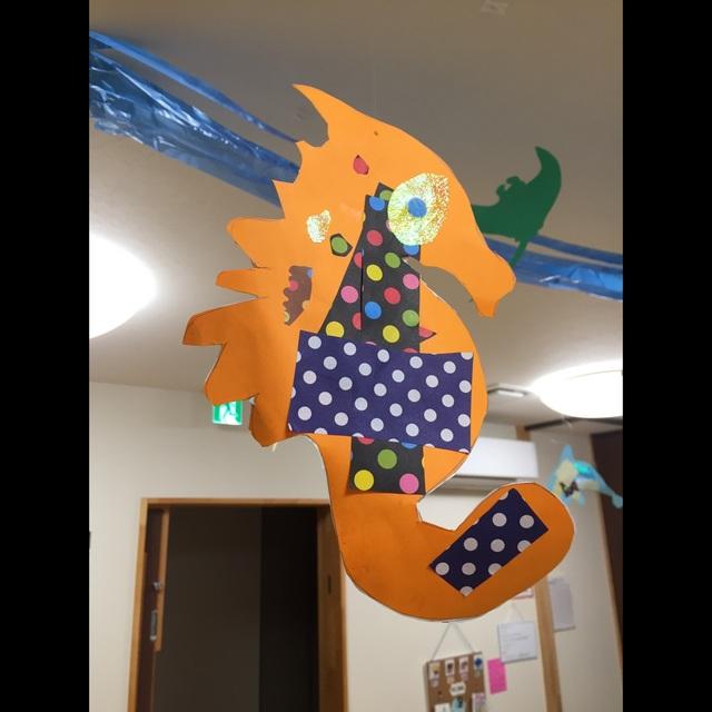 【アプリ投稿】切り絵&貼り絵5歳児
