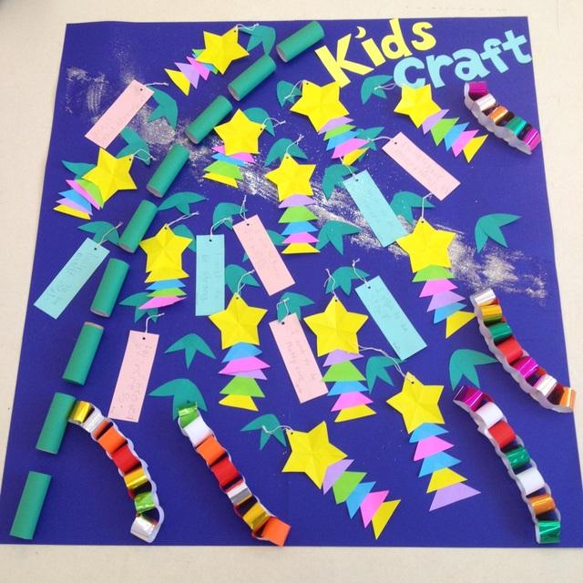 【アプリ投稿】2-3歳児 星の飾り