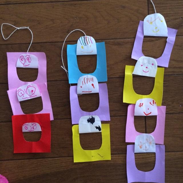 【アプリ投稿】3歳児ニコニコ繋ぎ