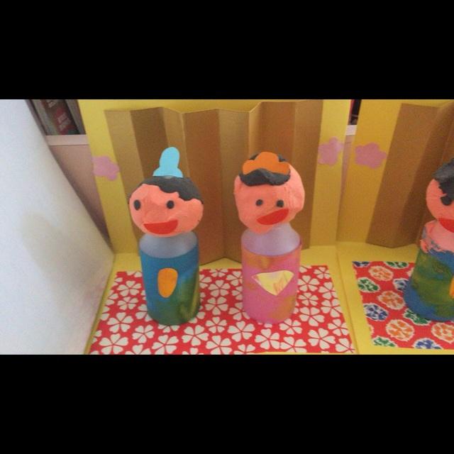 【アプリ投稿】1歳児クラス☆雛人形