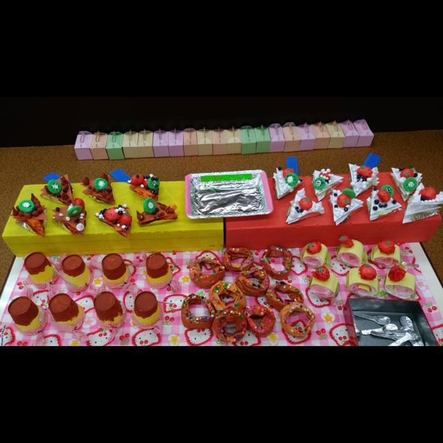 【アプリ投稿】☆夏まつり用・ケーキ屋さん☆