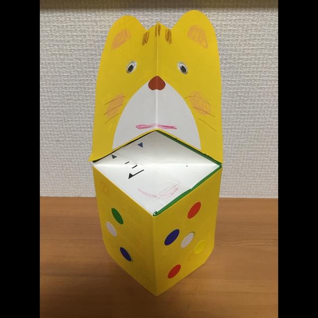【アプリ投稿】「ぱくぱくネコちゃん」牛乳パックで作るぱくぱく人形親子工作あそび