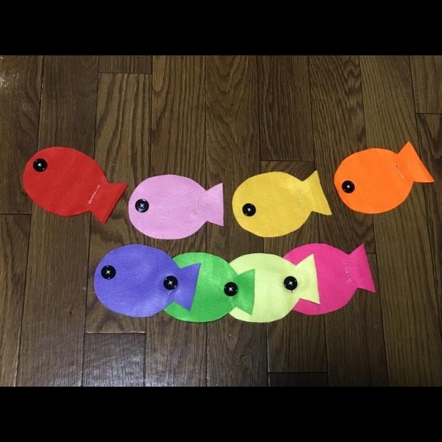 【アプリ投稿】[お魚つなぎ]ボタン練習