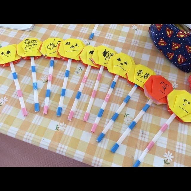 【アプリ投稿】かぼちゃのステッキ (1.2歳児)