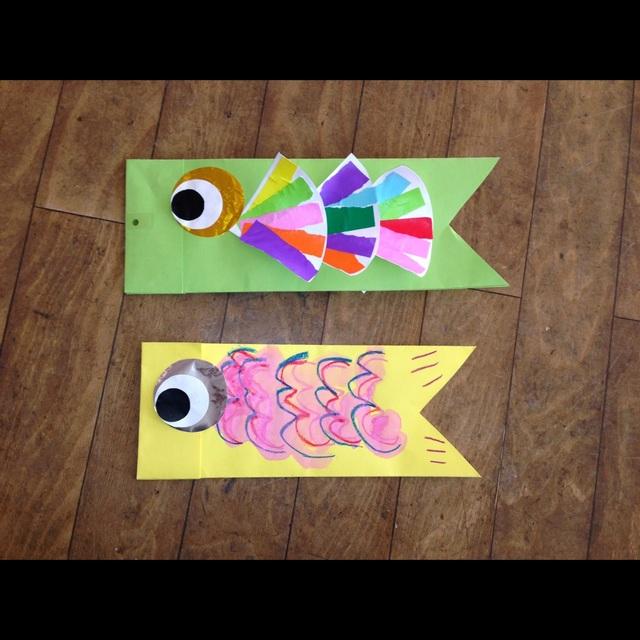 【アプリ投稿】鯉のぼり製作 4歳児