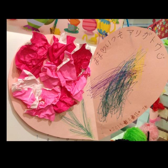 【アプリ投稿】【母の日制作】2歳児