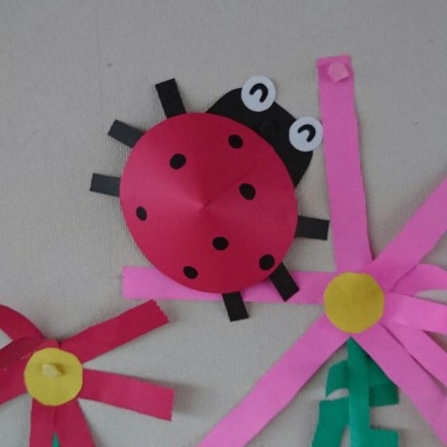 【アプリ投稿】H28年度 秋の壁面  4歳児