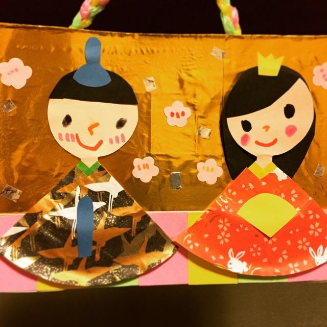 【アプリ投稿】5歳児 雛人形