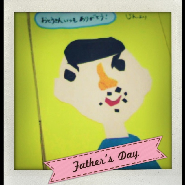 【アプリ投稿】父の日:カード