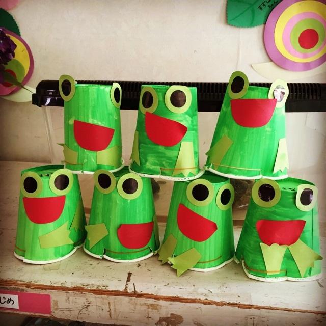 【アプリ投稿】カエルのおもちゃ作り!